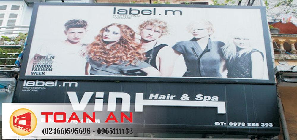 biển hiệu salon tóc