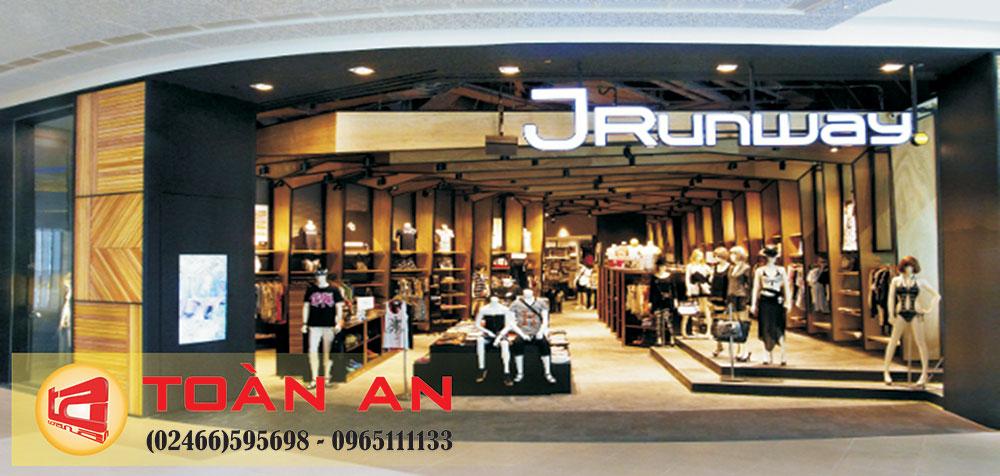 Mẫu biển quảng cáo shop Jrunway