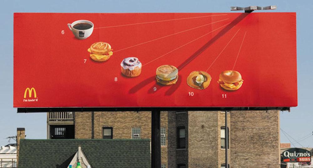 Những biển quảng cáo ấn tượng đủ sức thuyết phục bạn mua hàng
