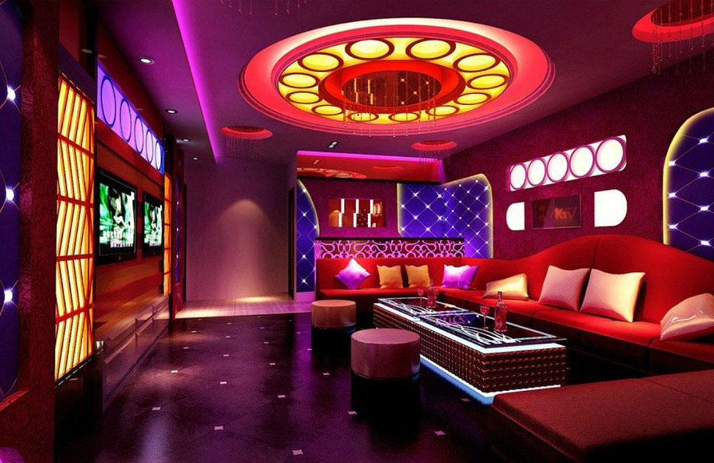 Thiết kế phòng karaoke với nhiều những phong cách khác nhau
