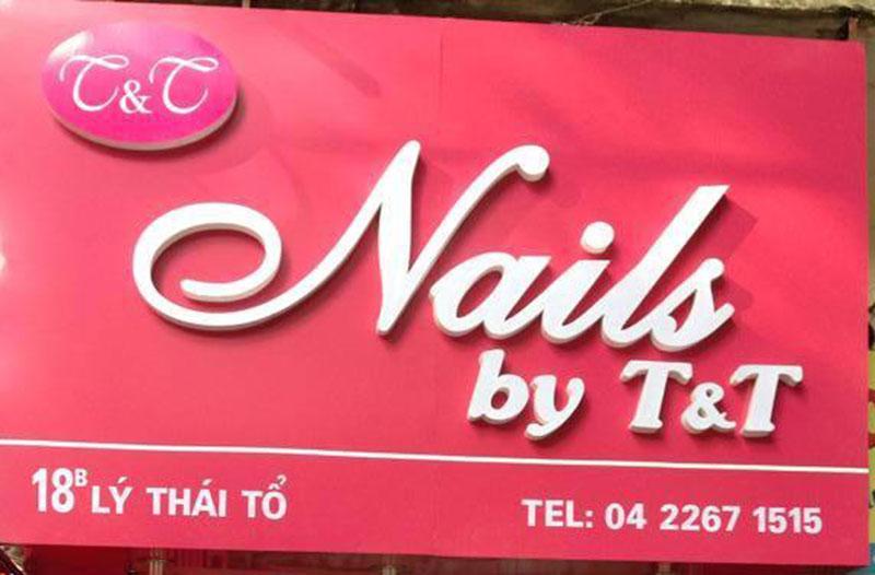 Biển quảng cáo đèn led Nail