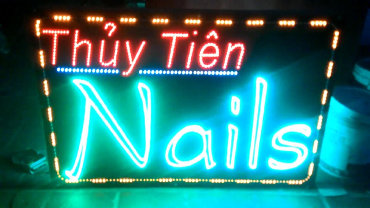 Biển quảng cáo điện tử Nail
