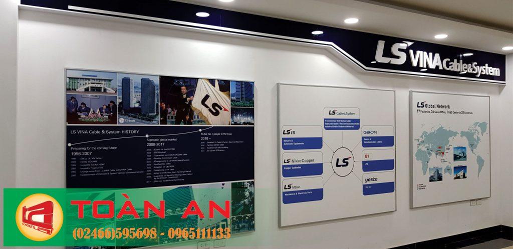 Sản phẩm biển hiệu do Toàn An cung cấp luôn đảm bảo chất lượng, có thông qua kiểm duyệt của đội ngũ công ty