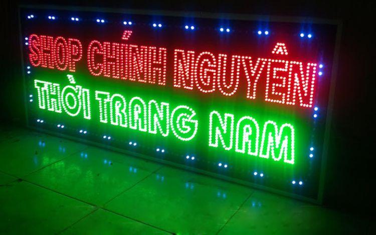 làm biển quảng cáo LED
