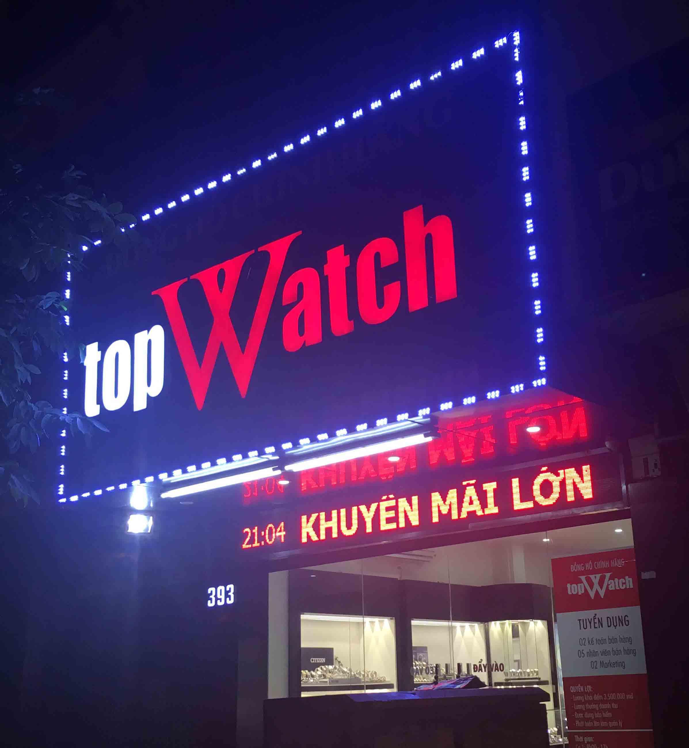 Làm biển quảng cáo cửa hàng đẹp tại Hà Nội