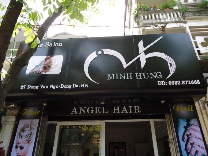 Biển quảng cáo tóc đẹp