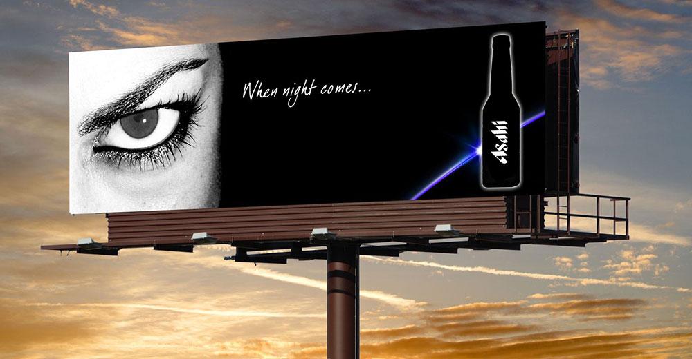 Biển quảng cáo ấn tượng độc đáo