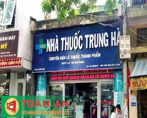 làm biển quảng cáo Sài Đồng
